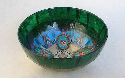 earth mandala bowl