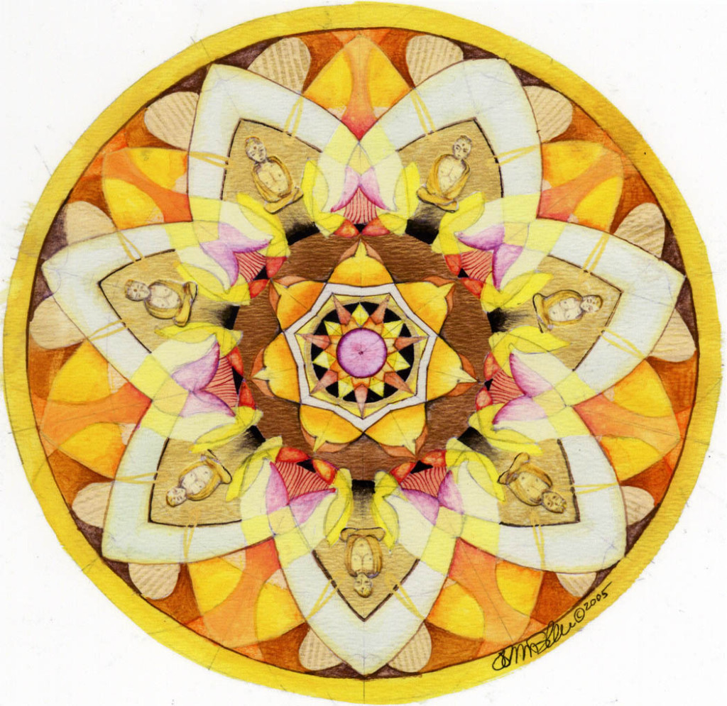 buddha sun mandala