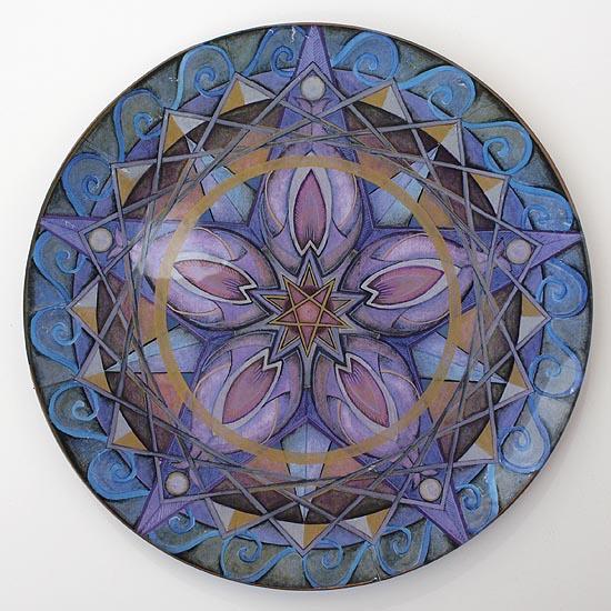 Mandala Art Plates