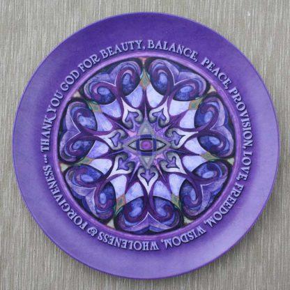 Thank You God Prayer Plate in melamine for $29.95